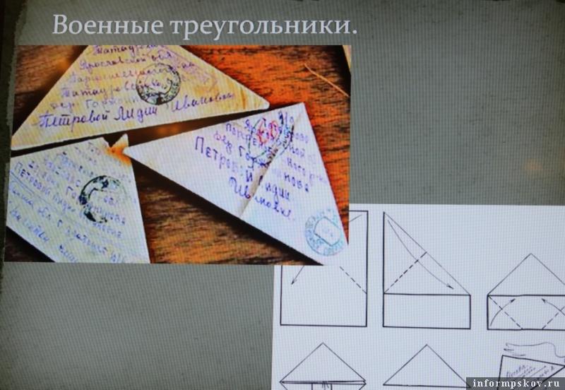 Как сделать треугольник открытку, картинки больше