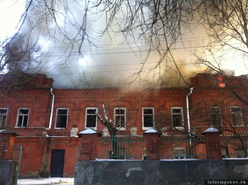Здание на Герцена, 5 - Дом Седельщикова - за последние несколько лет неоднократно горело
