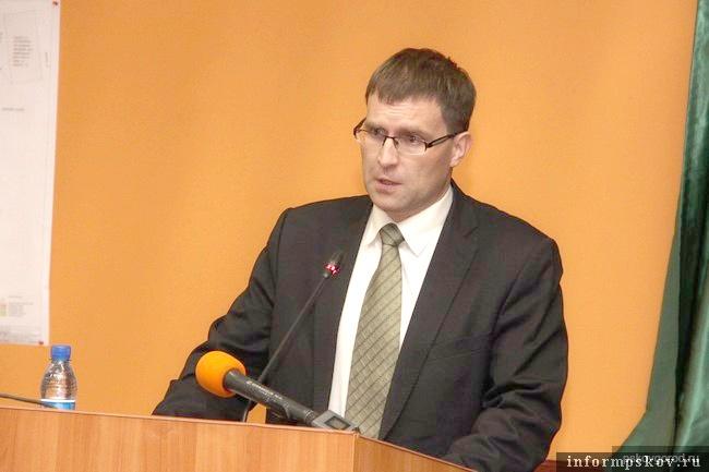 Лидер инициативной группы жильцов Герман Коренченко