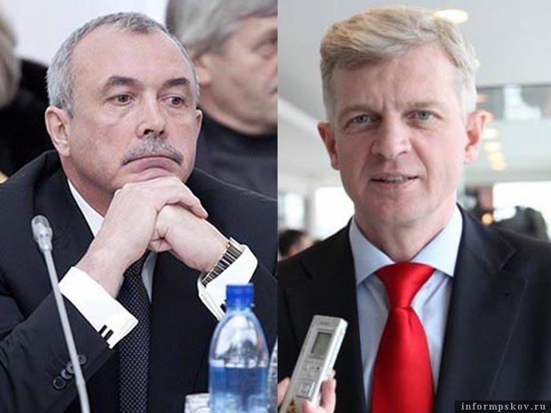 На фото (слева направо) Михаил Брячак и Игорь Ревин
