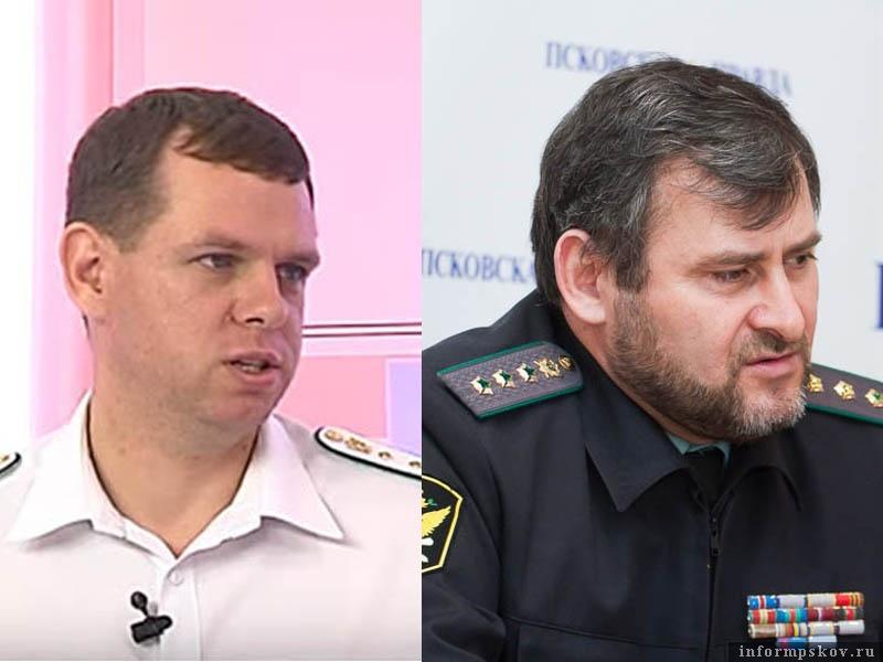 На фото: (слева направо) Сергей Колесников и Саидмагомед Сааев