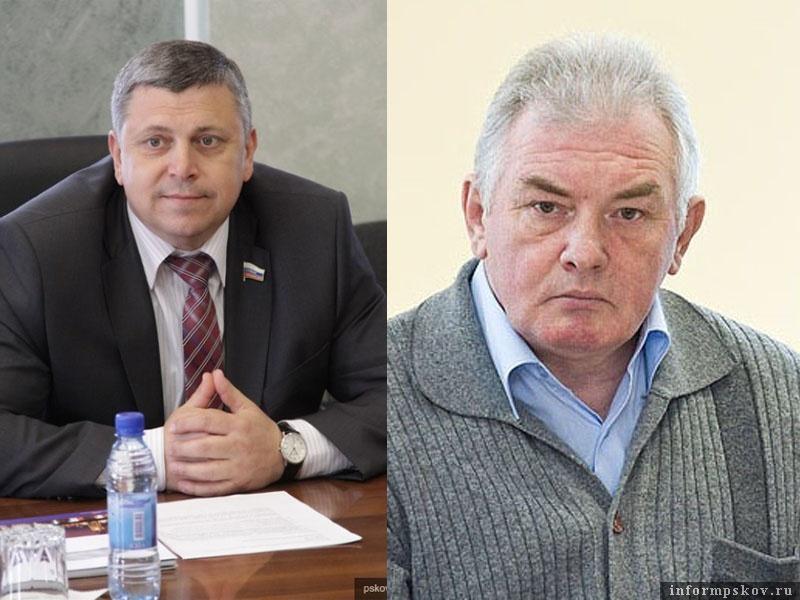 На фото: (слева направо) Игорь Сиротин и Валерий Петров