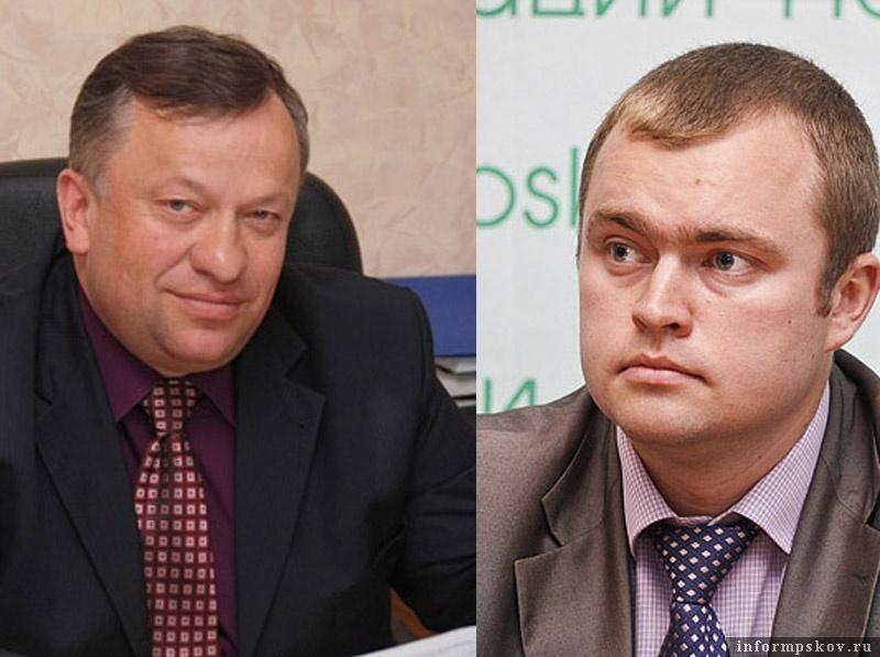 На фото: (слева направо) Павел Мищенков и Дмитрий Быстров