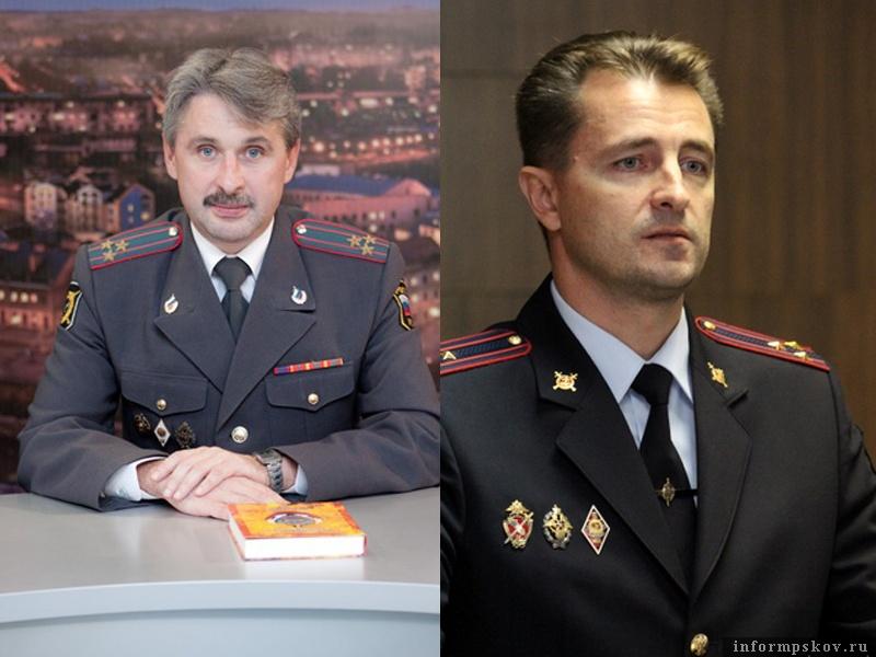 На фото: (слева направо) Сергей Сурин и Сергей Сорокин