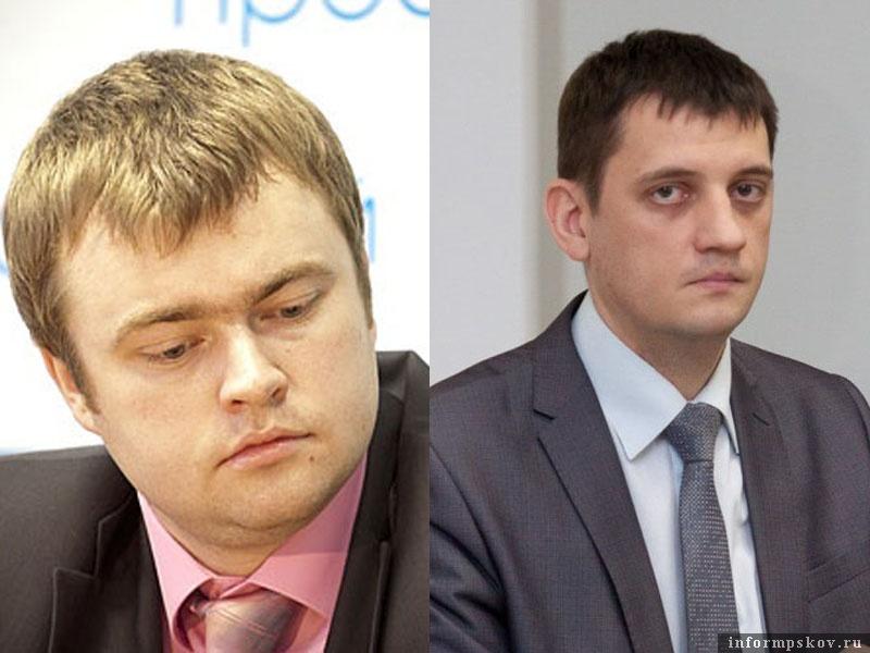 На фото: (слева направо) Дмитрий Быстров и Андрей Агапов