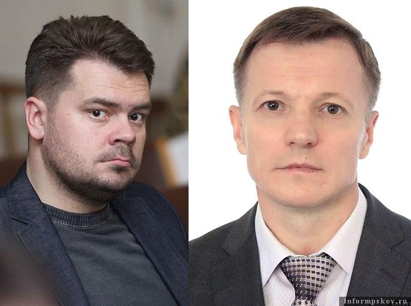 На фото: (слева направо) Константин Калиниченко и Николай Филипчик