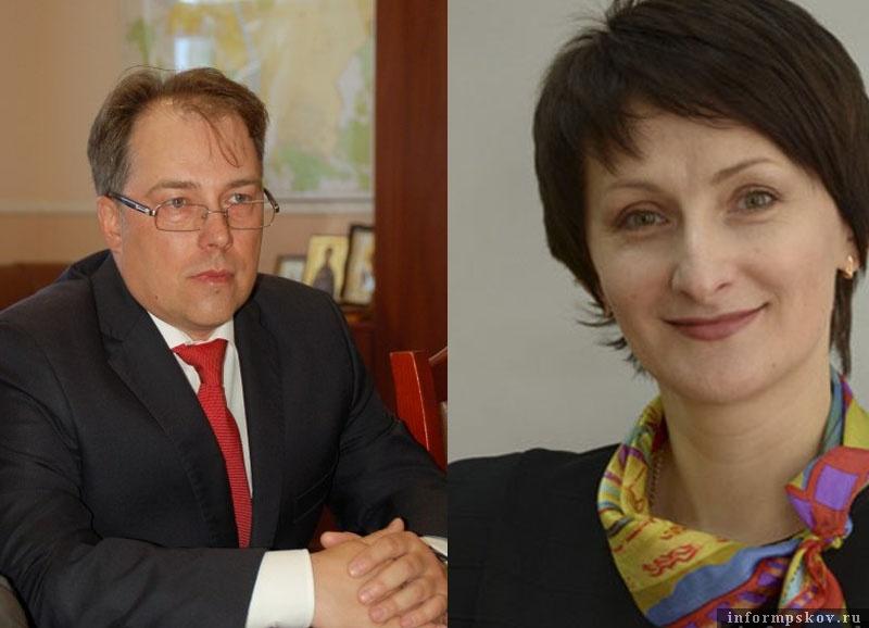 На фото: Андрей Марков и Любовь Рыбакова