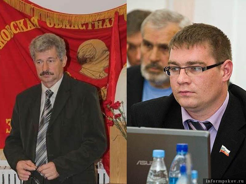 На фото: (слева направо) Пётр Алексеенко и Дмитрий Михайлов