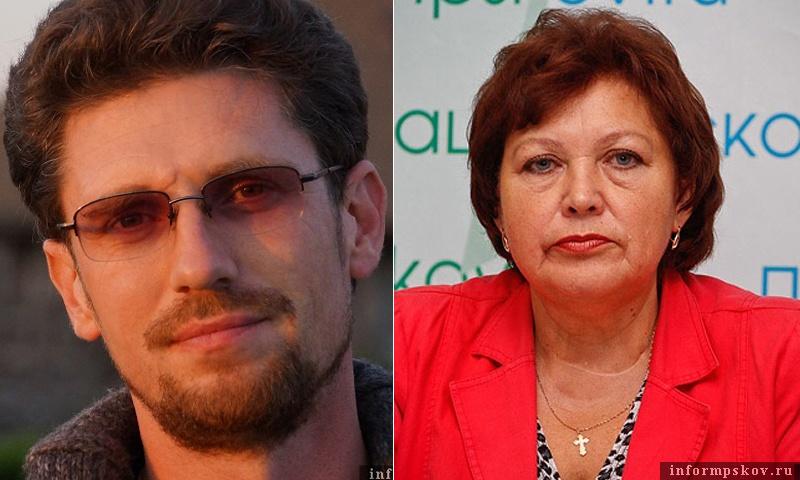 На фото: Артём Татаренко и Галина Иванова