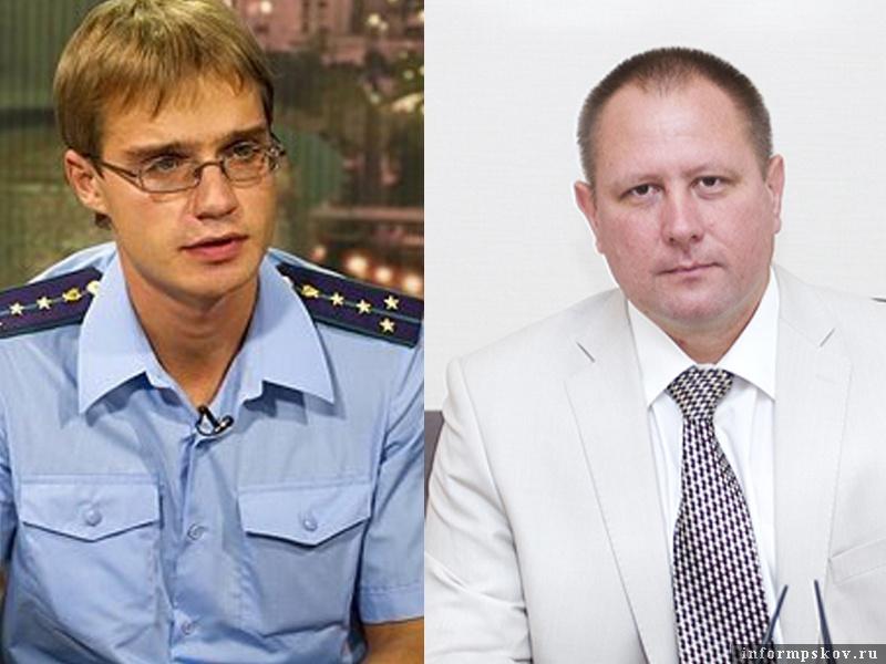 На фото: (слева направо) Андрей Волков и Андрей Калинин