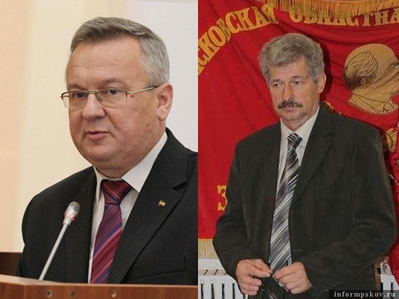 На фото: (слева направо) Александр Рогов и Пётр Алексеенко