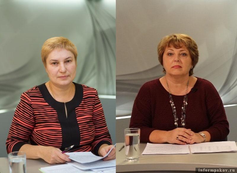 На фото: (слева направо) Наталья Вдовина и Татьяна Козина