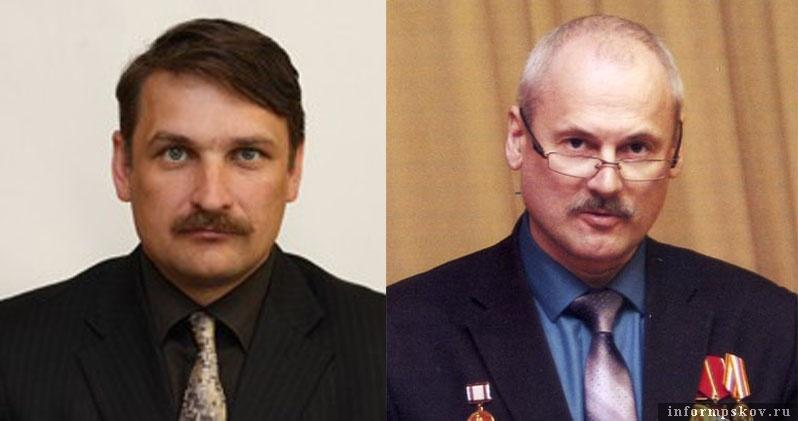 На фото: (слева направо) Олег Лебедев и Андрей Белугин