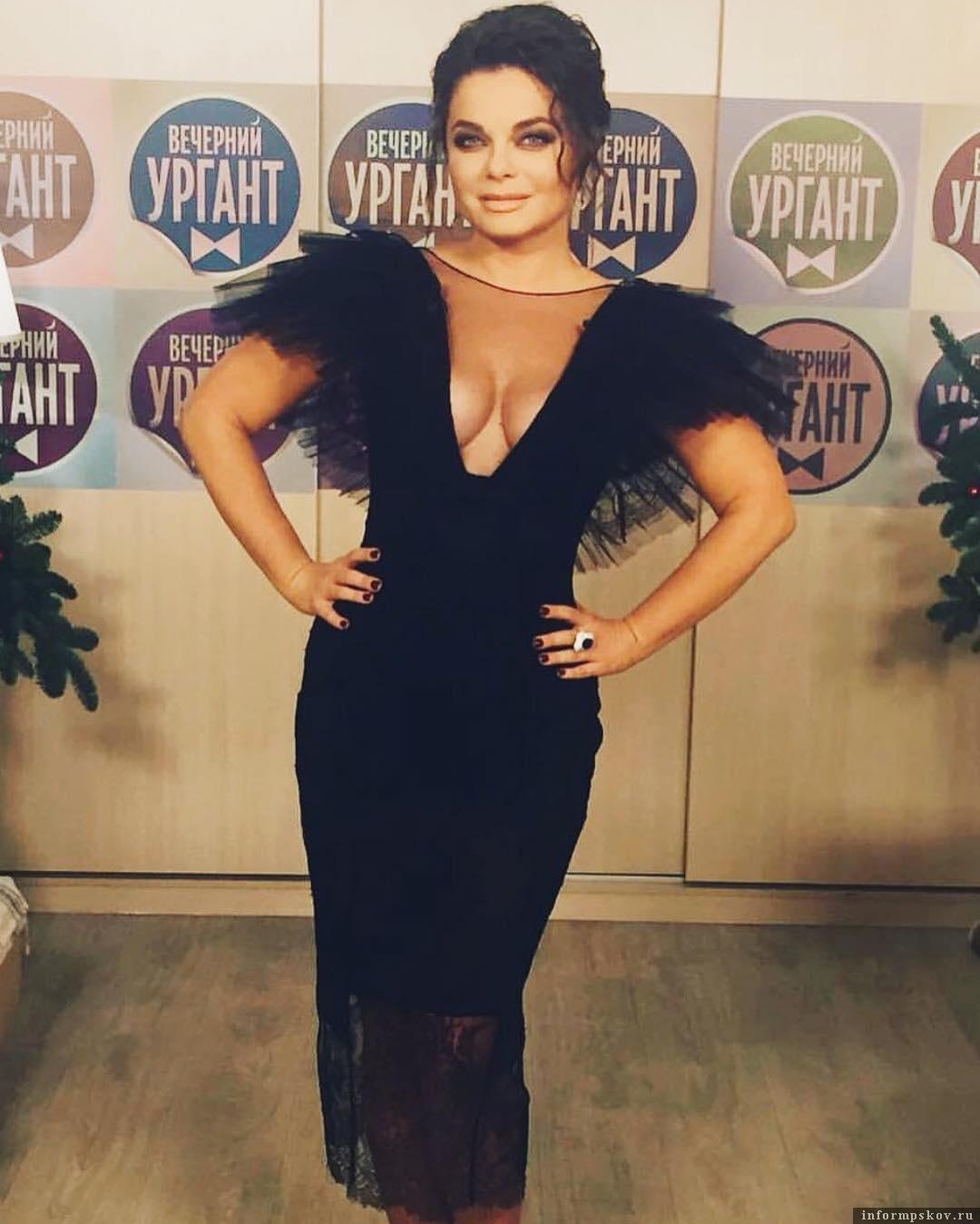 Наталья Королёва в платье от ALINAGERMAN