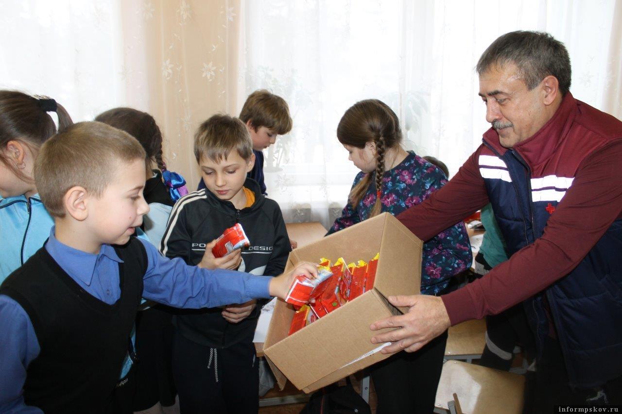 Фото Псковского Красного Креста