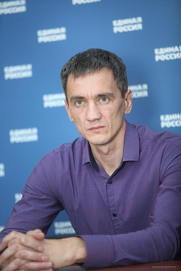 На фото: Сергей Быков