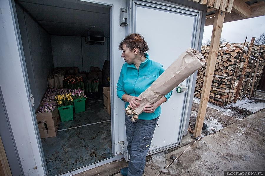 Холодильник, купленный на средства областного гранта