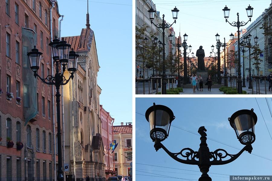 Фонари в Петербурге