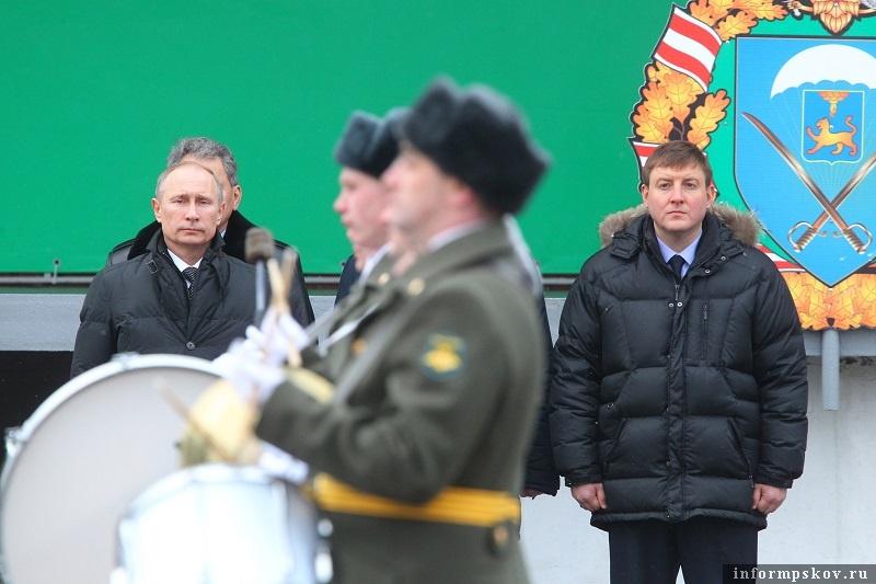 Владимир Путин и Андрей Турчак. Фото ПАИ