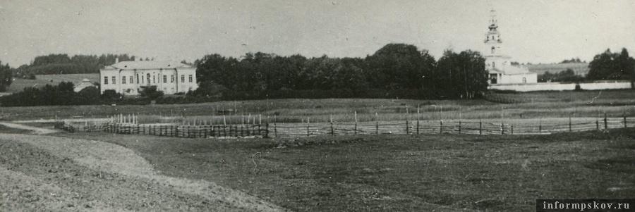 Общий вид имения Скобельцыных