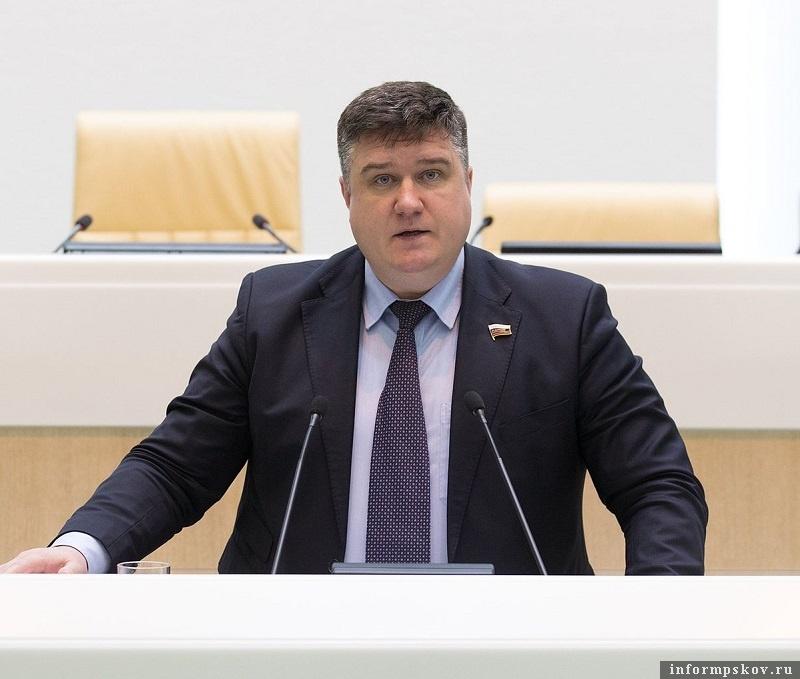 Александр Борисов. Фото пресс-службы Совета Федерации
