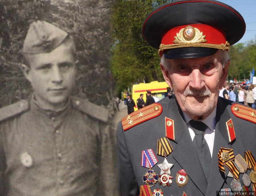 Николай Михайлович Семёнов (фото предоставлено внучкой ветерана Людмилой Чугайновой)