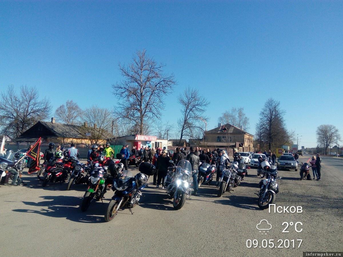 Фото из группы мотопробега в соцсети «ВКонтакте»