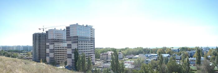 Ход строительства 16-этажных апартаментов на территории бывшего детского лагеря. Фото с сайта застройщика