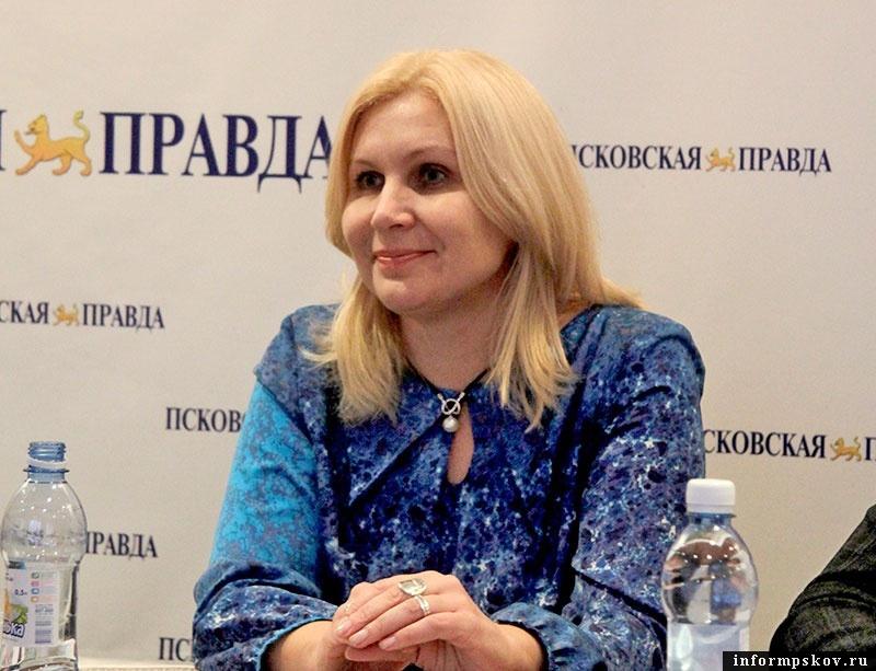 На фото: Светлана Баранова