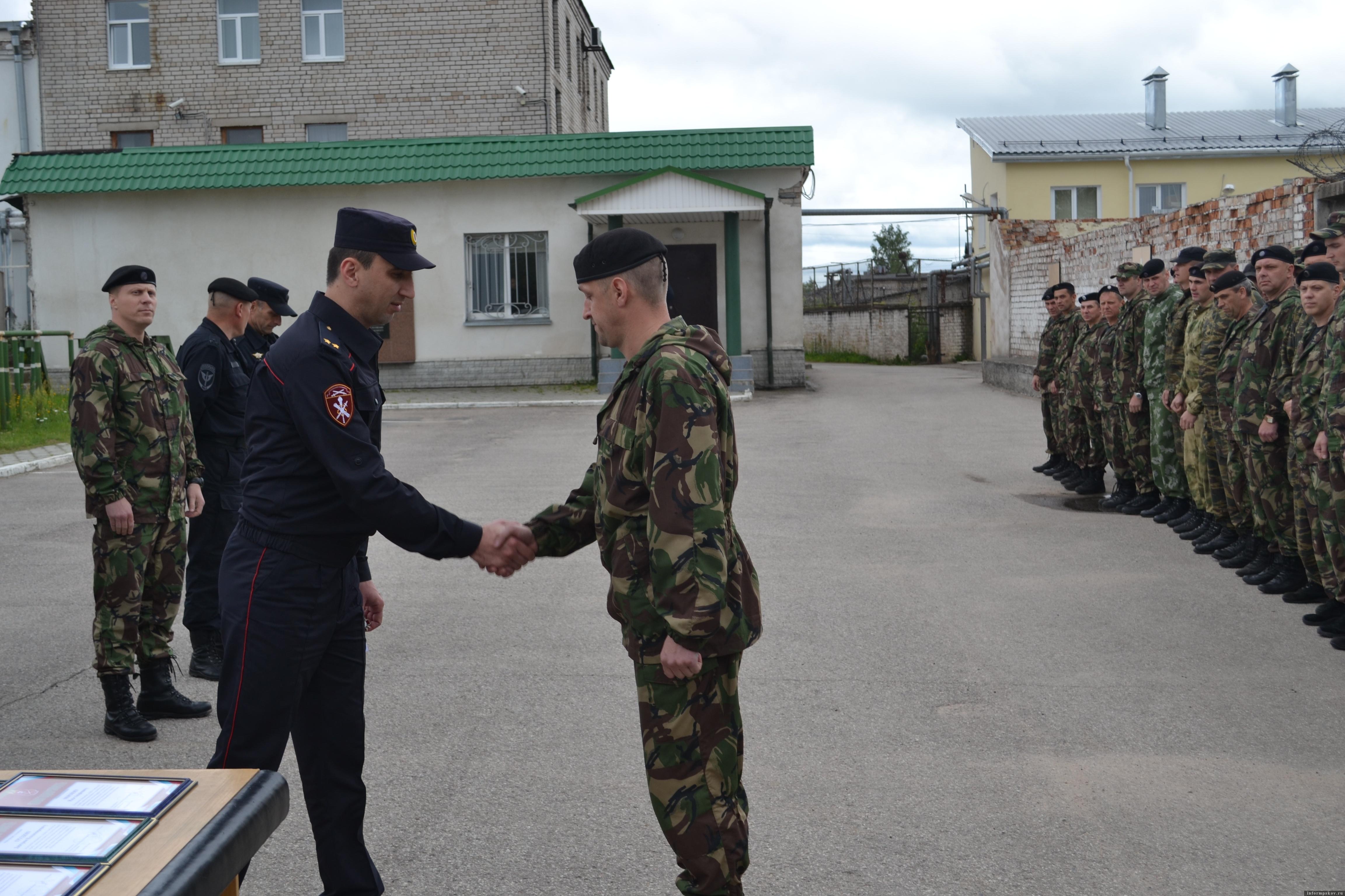 Фото пресс-службы отдела Росгвардии по Псковской области