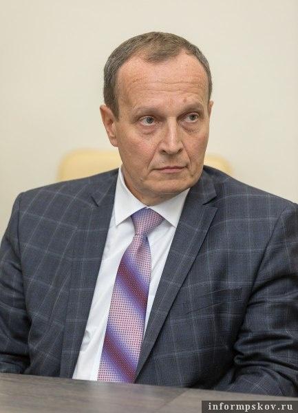 Николай Околеснов. Фото пресс-службы администрации Псковской области