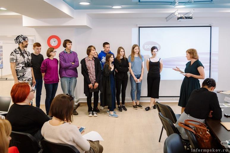 Участники проекта, работавшие в Пскове. Фото Алексея Архипова (Фонд «Общественное мнение»)