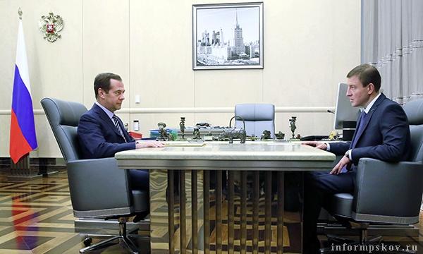 Дмитрий Медведев и Андрей Турчак
