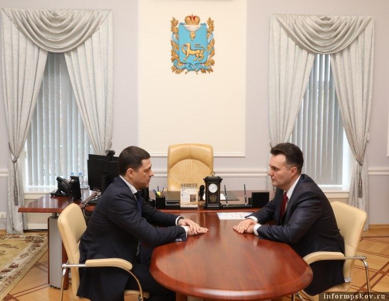 Михаил Ведерников и Николай Цветков
