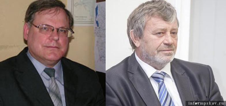 На фото: (слева направо) Александр Куренков и Александр Гизбрехт