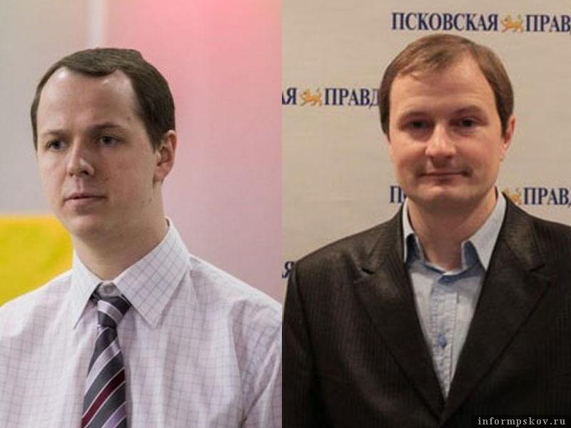 На фото: (слева направо) Юрий Каныгин и Алексей Малов