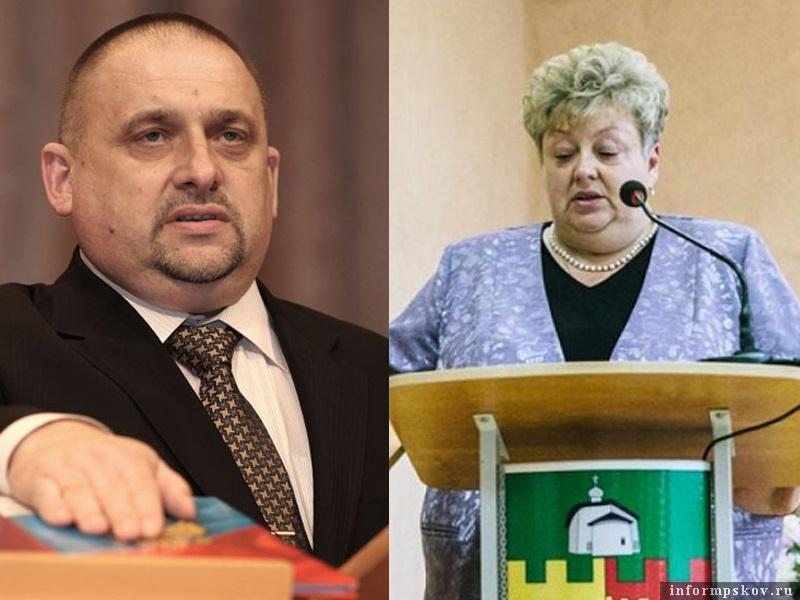 На фото: Виктор Степанов и Лариса Сидорук