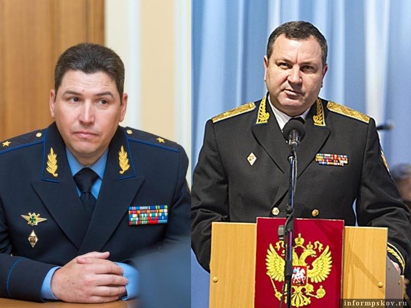 На фото: (слева направо) Андрей Парамонов и Александр Мурзин