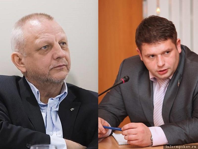 На фото: (слева направо) Николай Рассадин и Сергей Макарченко
