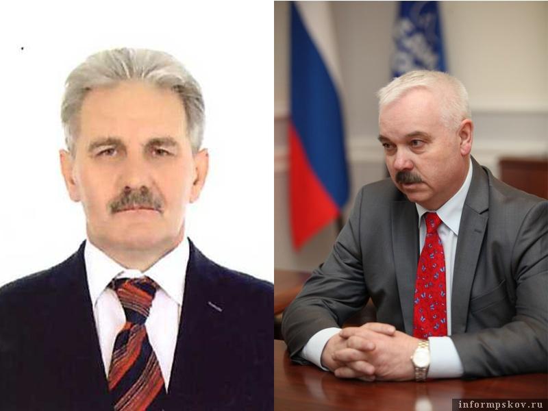 На фото: (слева направо) Виталий Аршинов и Виталий Соловьёв