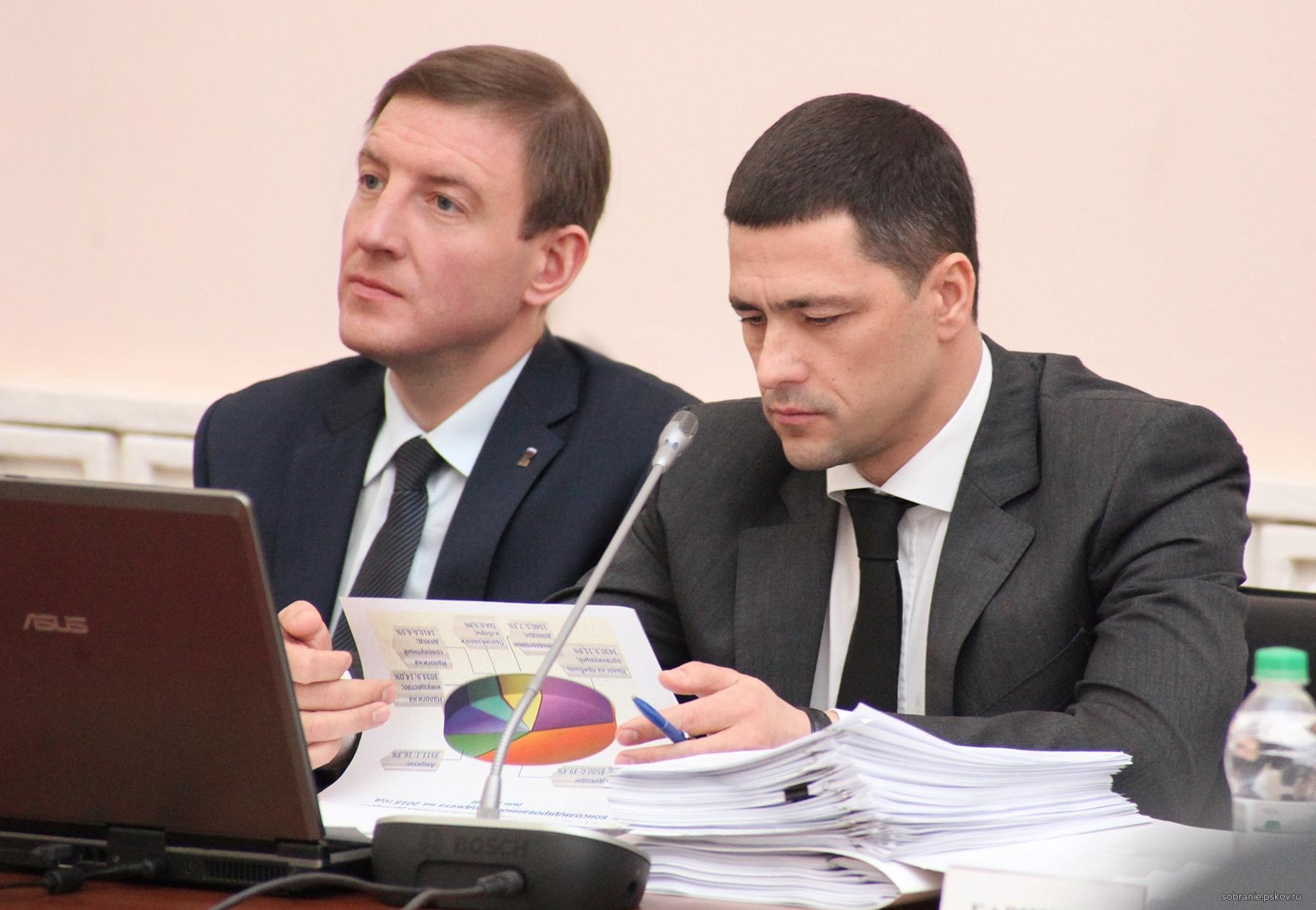 Андрей Турчак и Михаил Ведерников