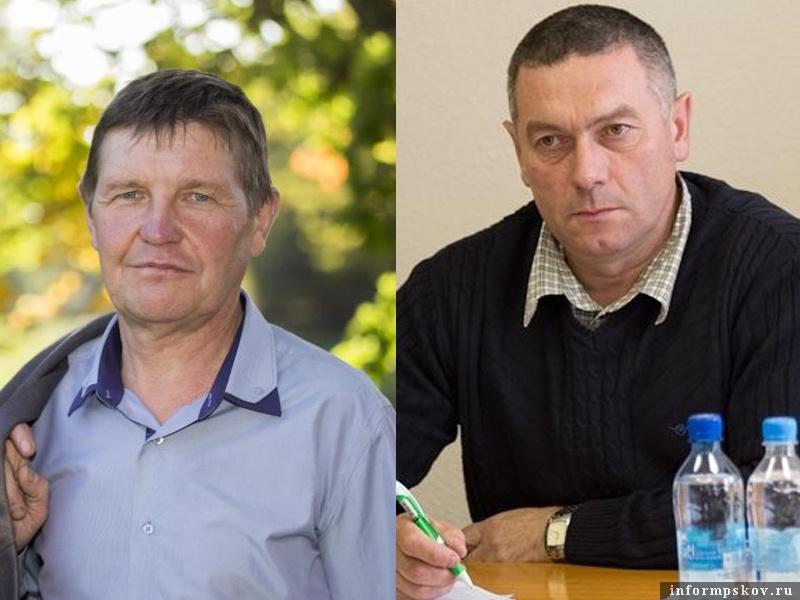 На фото: (слева направо) Юрий Павлов и Михаил Разумнов