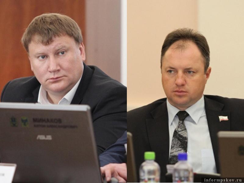 На фото: (слева направо) Александр Батчиков и Андрей Козлов