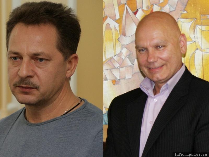 На фото: (слева направо) Александр Царкозенко и Александр Ильенко