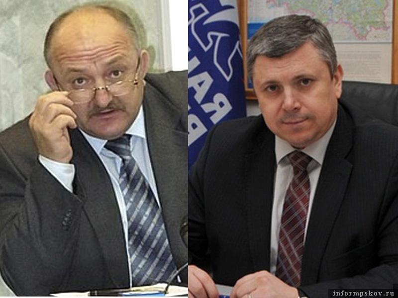 На фото: (слева направо) Александр Гончаренко и Игорь Сиротин