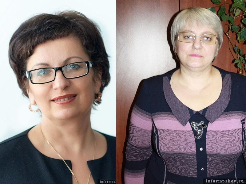 На фото: (слева направо) Ольга Калачева и Ольга Костылева