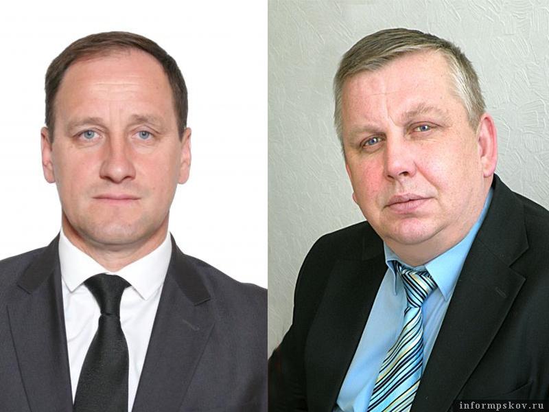 На фото: (слева направо) Дмитрий Сопотов и Сергей Васильев