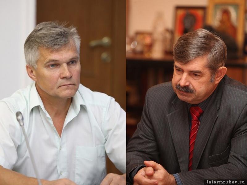 На фото: (слева направо) Геннадий Афанасьев и Игорь Гуменюк
