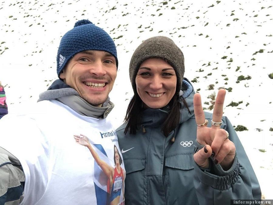 Александр Кузьмин и Наталья Антюх. Фото из социальных сетей