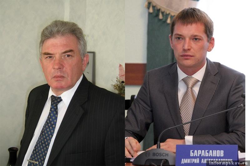 На фото: (слева направо) Валерий Петров и Дмитрий Барабанов